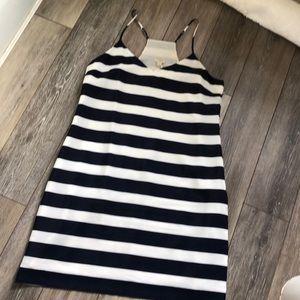 Navy/white stripe JCREW dress